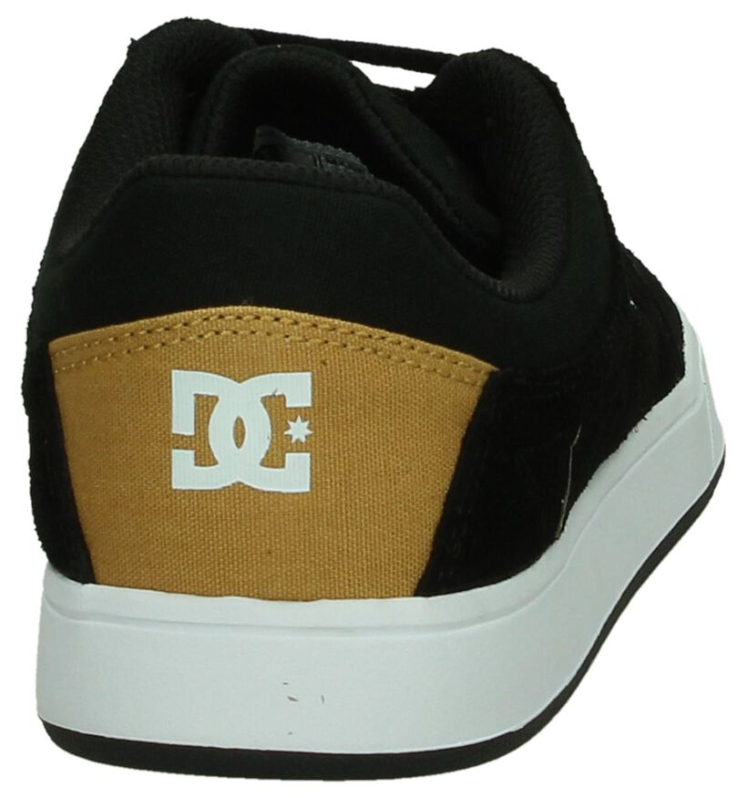 Zwarte Sneaker DC Shoes Crisis in daim (198609)