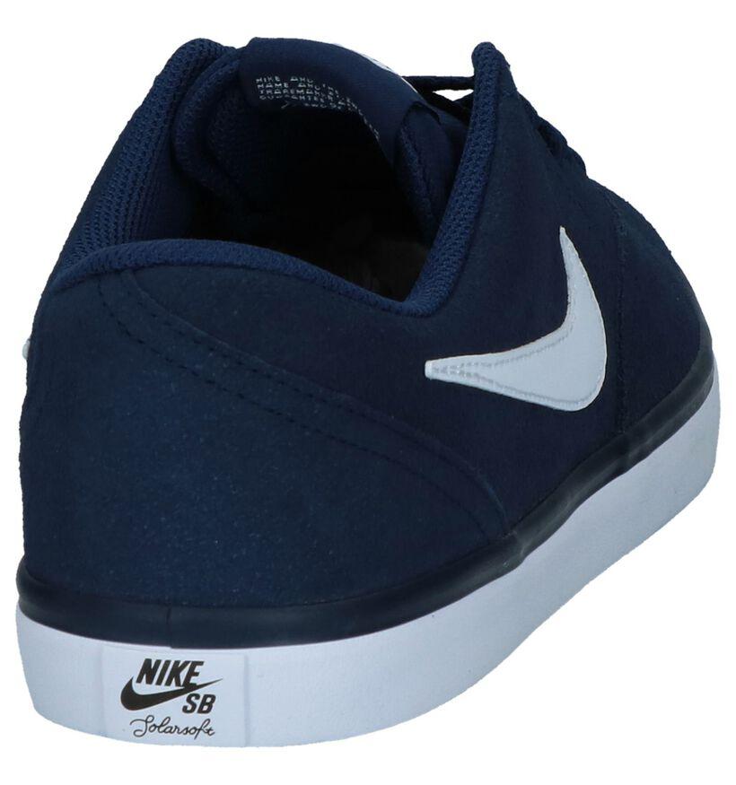 Nike SB Check Solar Zwarte Skateschoenen in daim (234062)