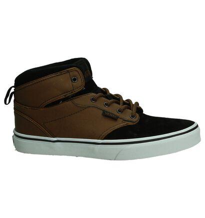 Vans Atwood Skate sneakers en Noir en daim (188337)