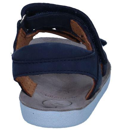 Donkerblauwe Sandalen Shoo Pom Goa Boy Scratch in nubuck (242877)