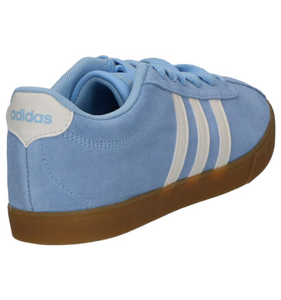 adidas Courtset Zwarte Sneakers in daim (252567)