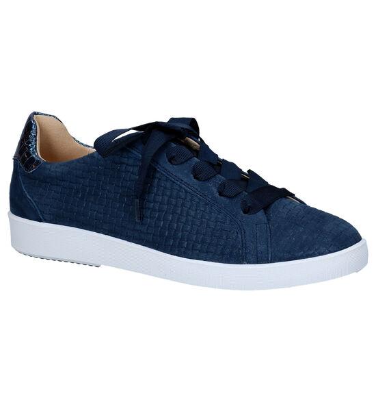 Softwaves Chaussures à lacets en Bleu foncé