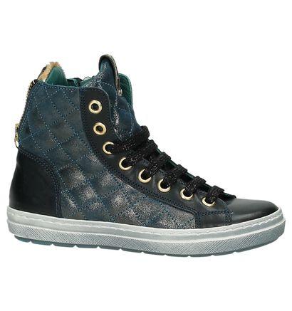 Rondinella Chaussures à fermeture à glissière et lacets  (Bleu), Bleu, pdp