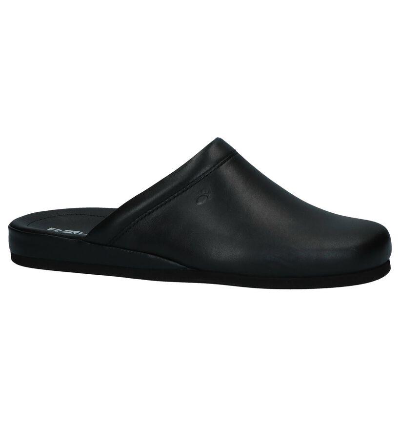 Rohde Pantoufles ouvertes en Noir en cuir (250738)