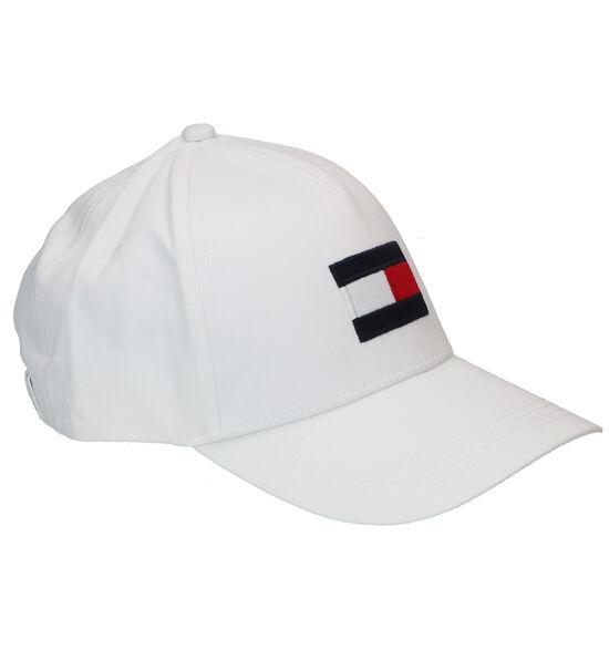 Tommy Hilfiger Big Flag Casquette en Blanc