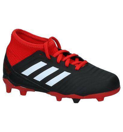 adidas Predator 18.3 Chaussures de Foot en Noir en simili cuir (235106)