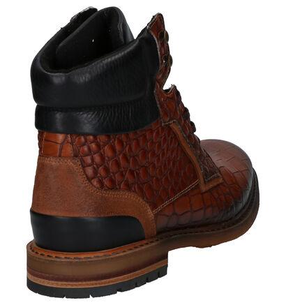 Borgo Sport Boots Cognac in leer (263252)