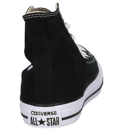 Zwarte Sneakers Converse All Star HI, Zwart, pdp