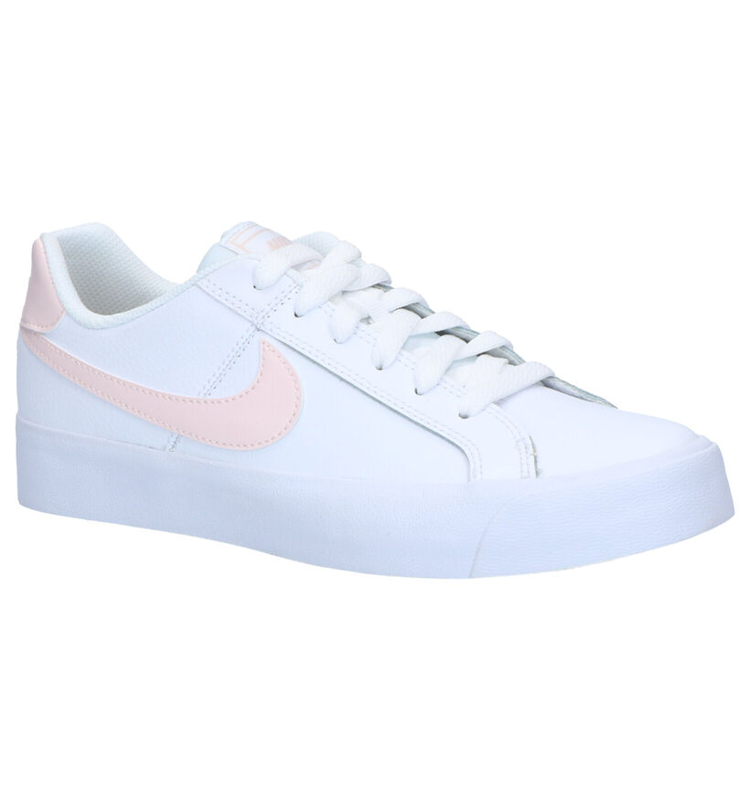 Nike Court Royale Sneakers Wit in leer (261700)