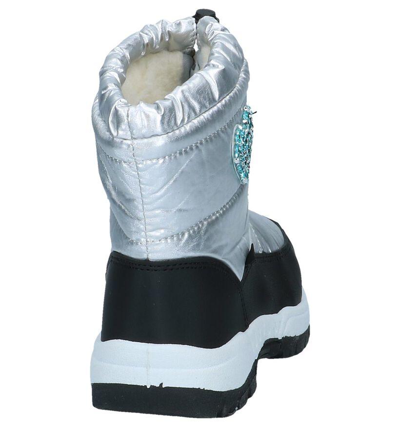 STUFF Bottes de neige en Argent en textile (255557)