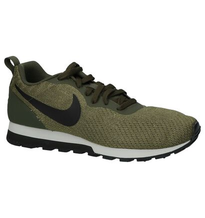 Nike MD Runner Kaki Sneakers, Groen, pdp