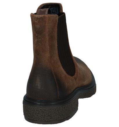 ECCO Crepetray Chaussures hautes en Brun foncé en cuir (235904)