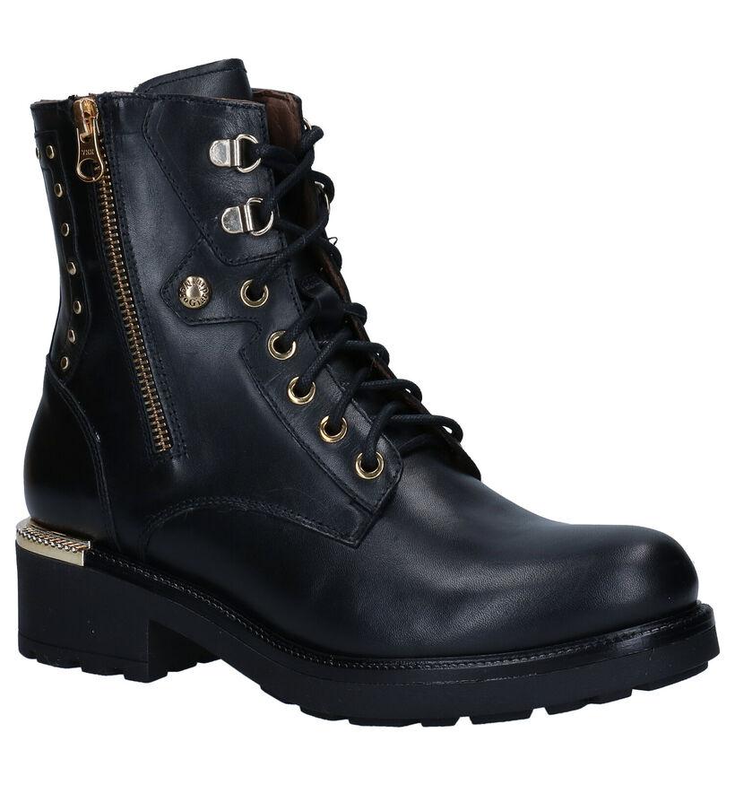 NeroGiardini Zwarte Boots in leer (284013)