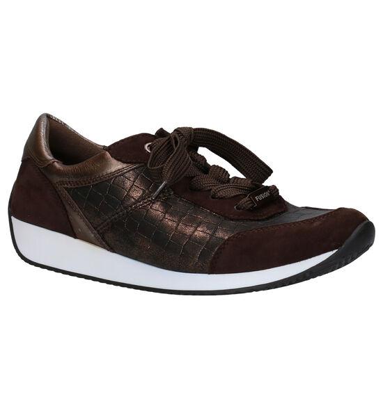 Ara Lissabon Chaussures à Lacets en Bronze