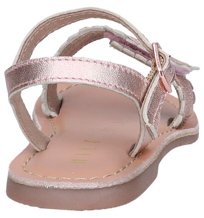 Rose Golden Sandalen Milo & Mila in leer (241259)