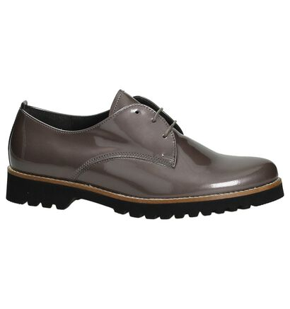 Gabor Chaussures à lacets en Taupe en cuir verni (184838)