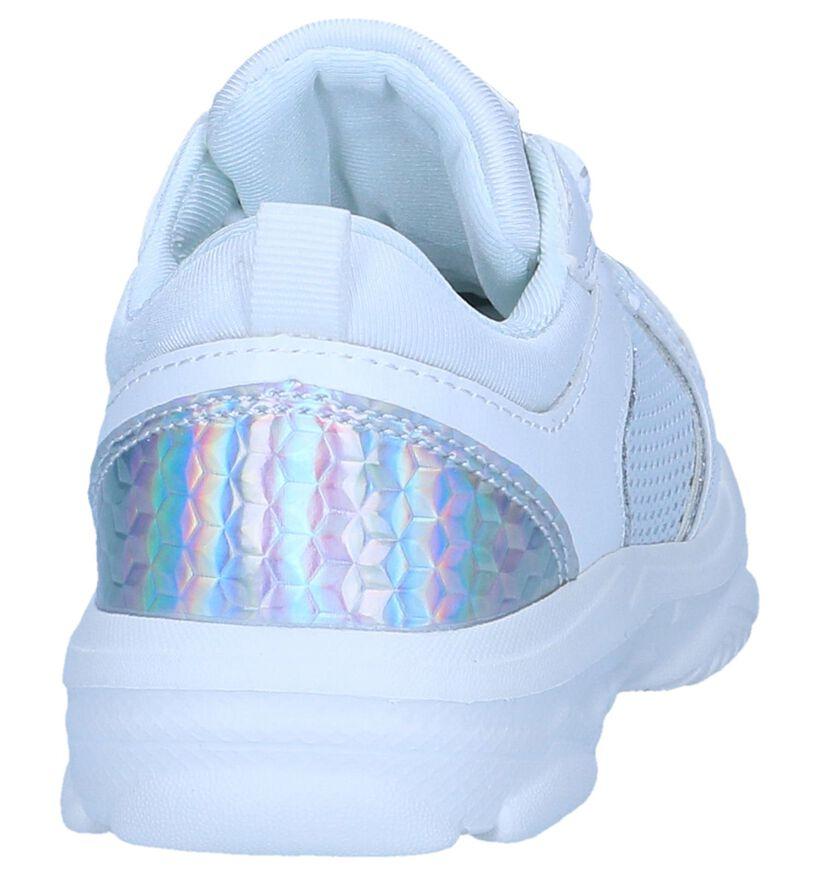 Witte Sneakers Milo & Mila in kunstleer (241411)