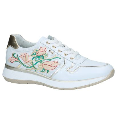 Witte Sneakers met Broderie NeroGiardini, Wit, pdp