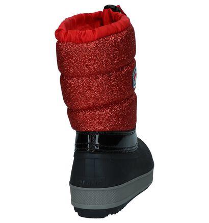 Rood/Zwarte Snowboots Olang Ol Bingo Lux in kunstleer (230922)