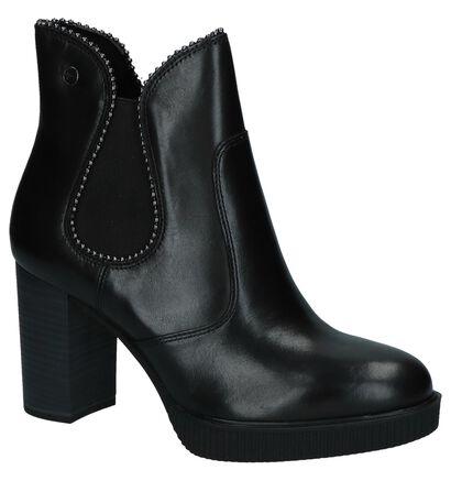 Tamaris Bottillons en Noir en cuir (226730)