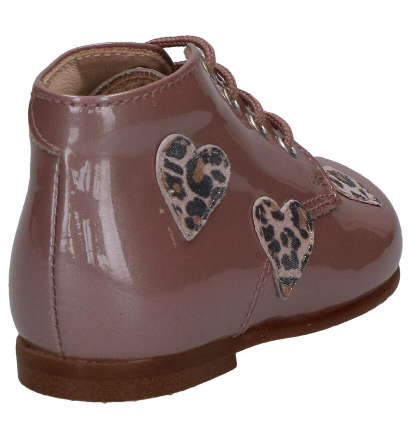 Beberlis Chaussures pour bébé  en Rose foncé en cuir (258916)