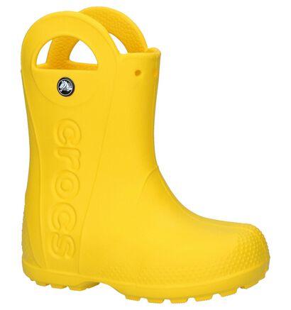 Crocs Handle It Gele Regenlaarzen in kunststof (224397)
