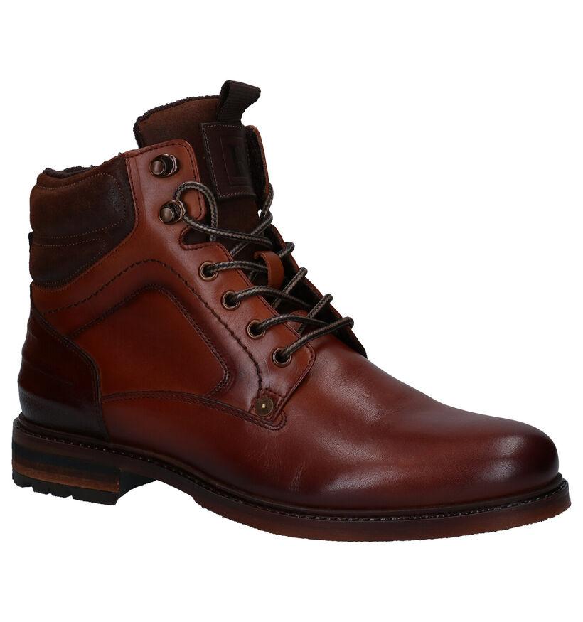 Borgo Sport Universal Cognac Boots in leer (282093)