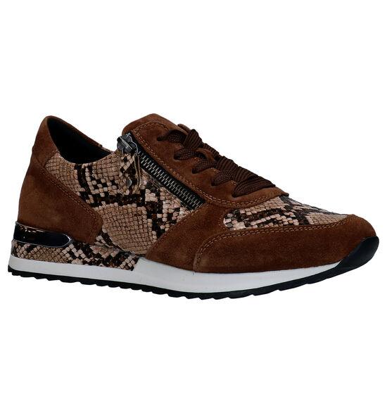 Remonte Chaussures à lacets en Marron