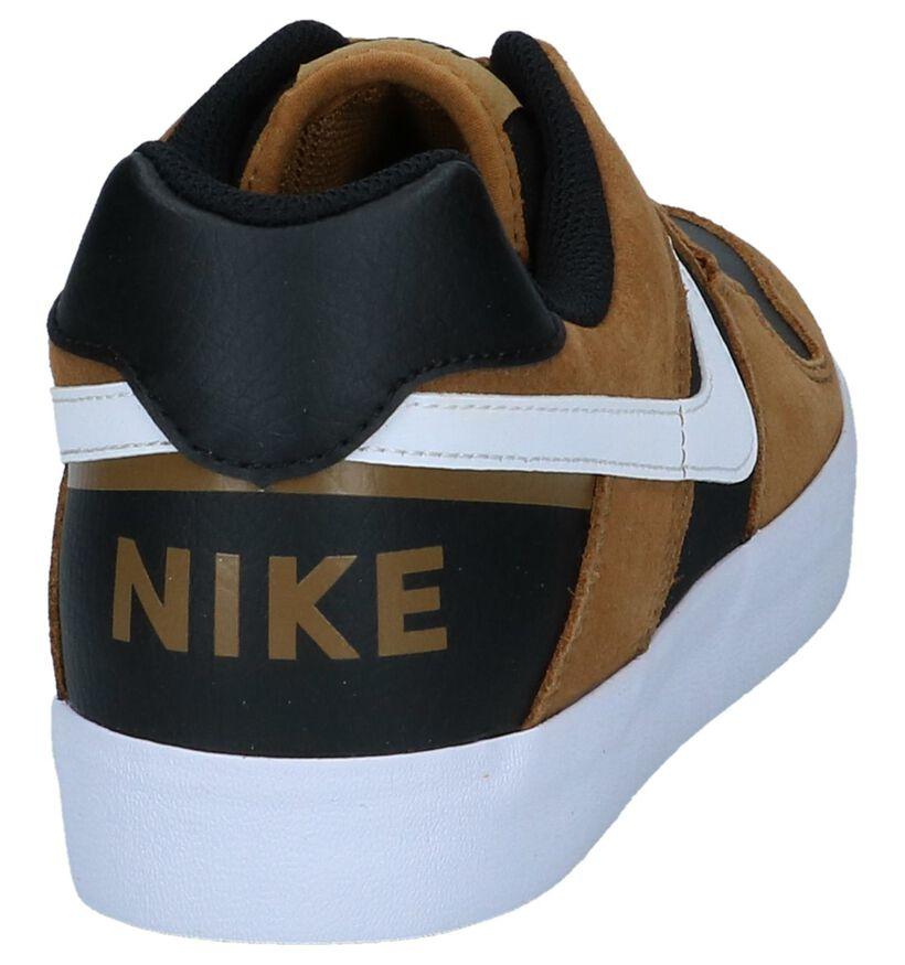 Bruine Sneakers Nike SB Delta Force in kunstleer (237847)