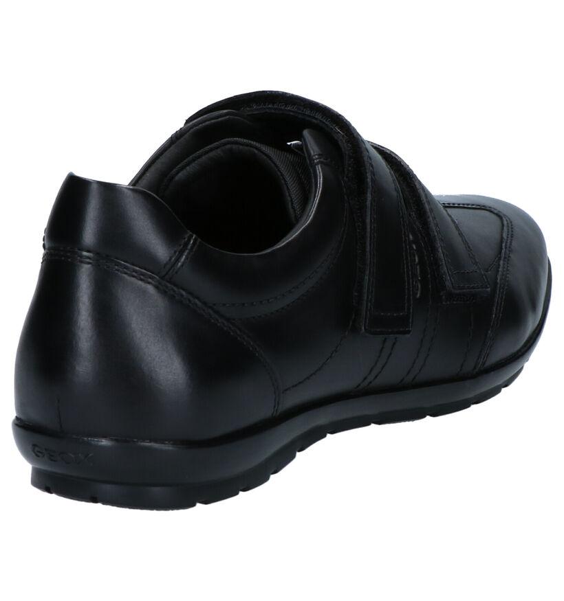 Geox Chaussures basses en Noir en cuir (266704)