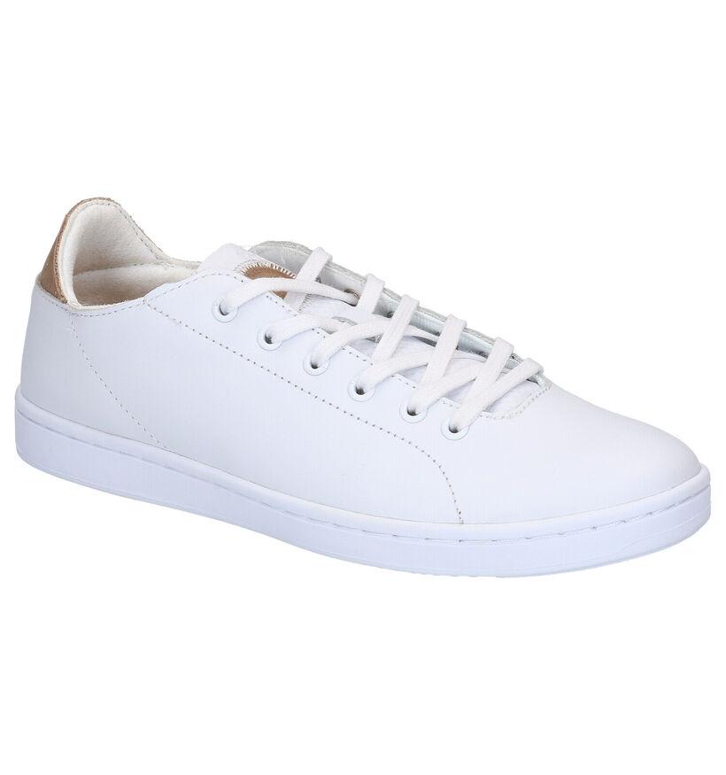 Woden Jane Leather Baskets en Blanc en cuir (266515)