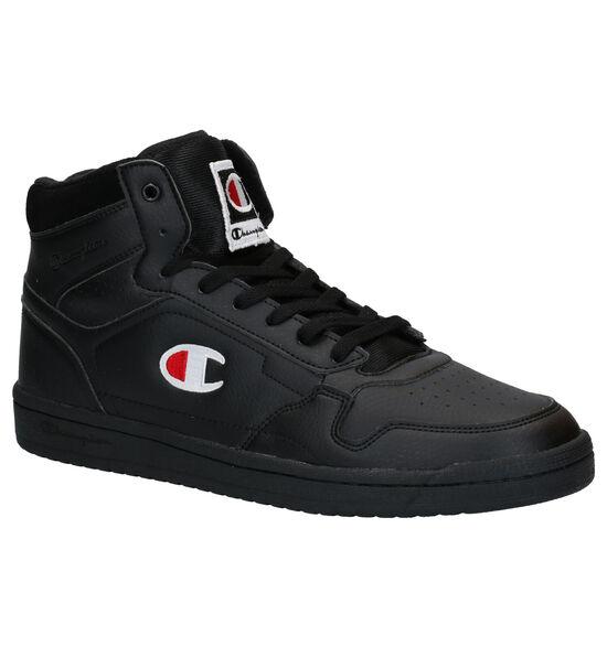 Champion New York Mid Zwarte Sneakers