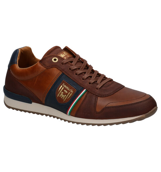 Pantofola d'Oro Umito Low Chaussures à Lacets en Cognac