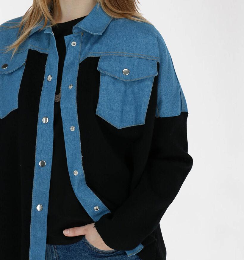 Kilky Zwart/Blauw Hemd (291321)