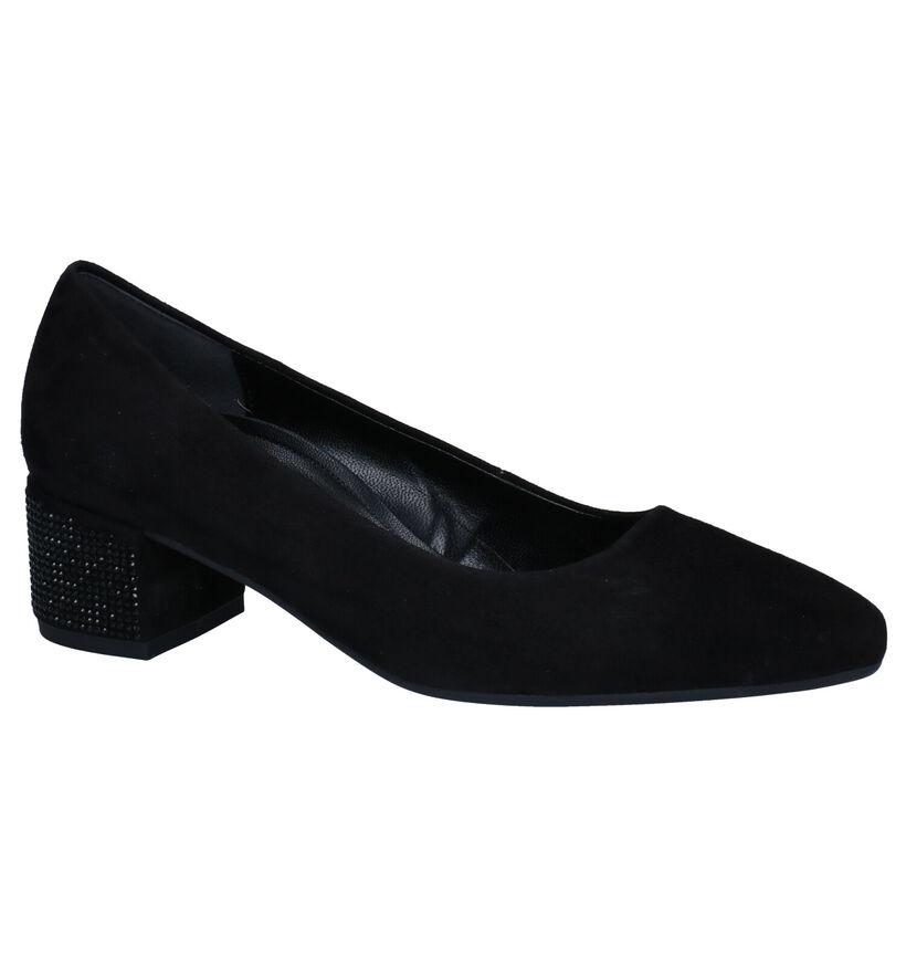 Gabor Soft Move Escarpins en Noir en cuir (282307)