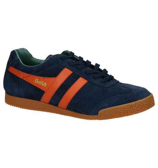 Gola Harrier Blauwe Sneakers