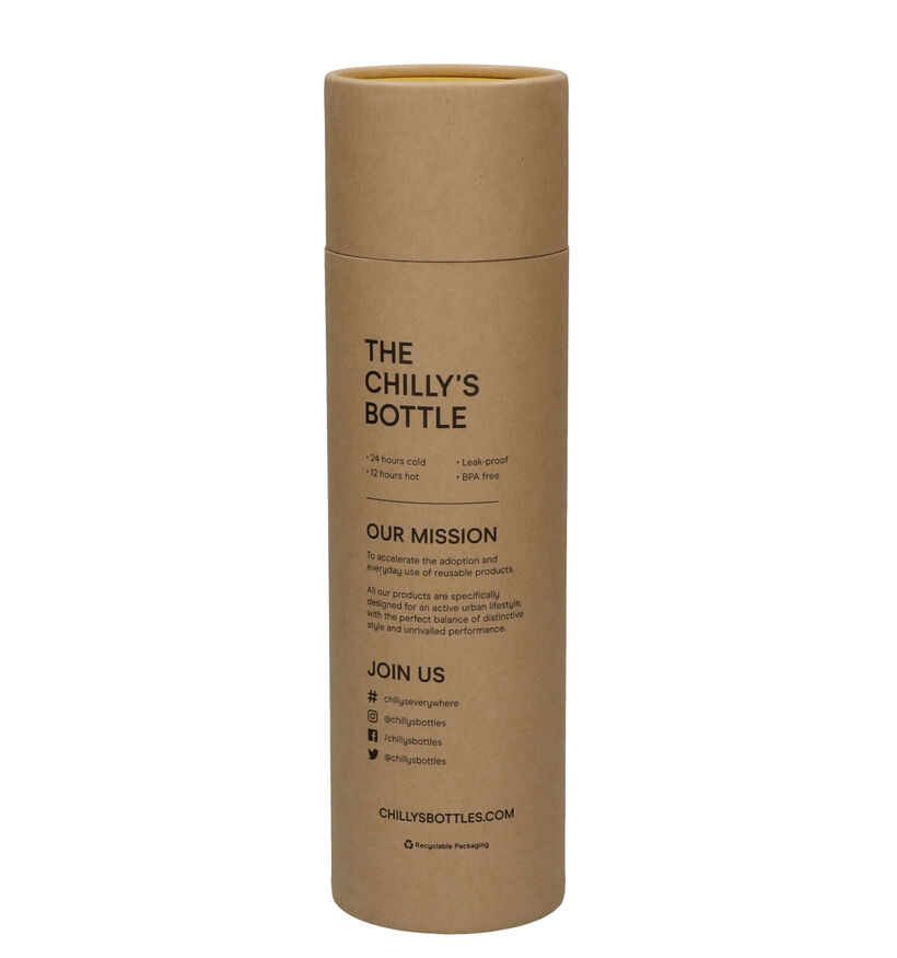 Chilly's Matte/Burnt Gele Drinkbus 500 ml (253371)