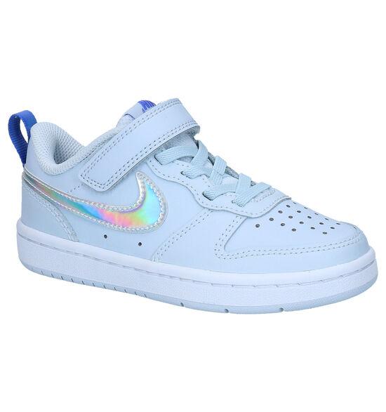 Nike Court Borough Low Baskets en Bleu