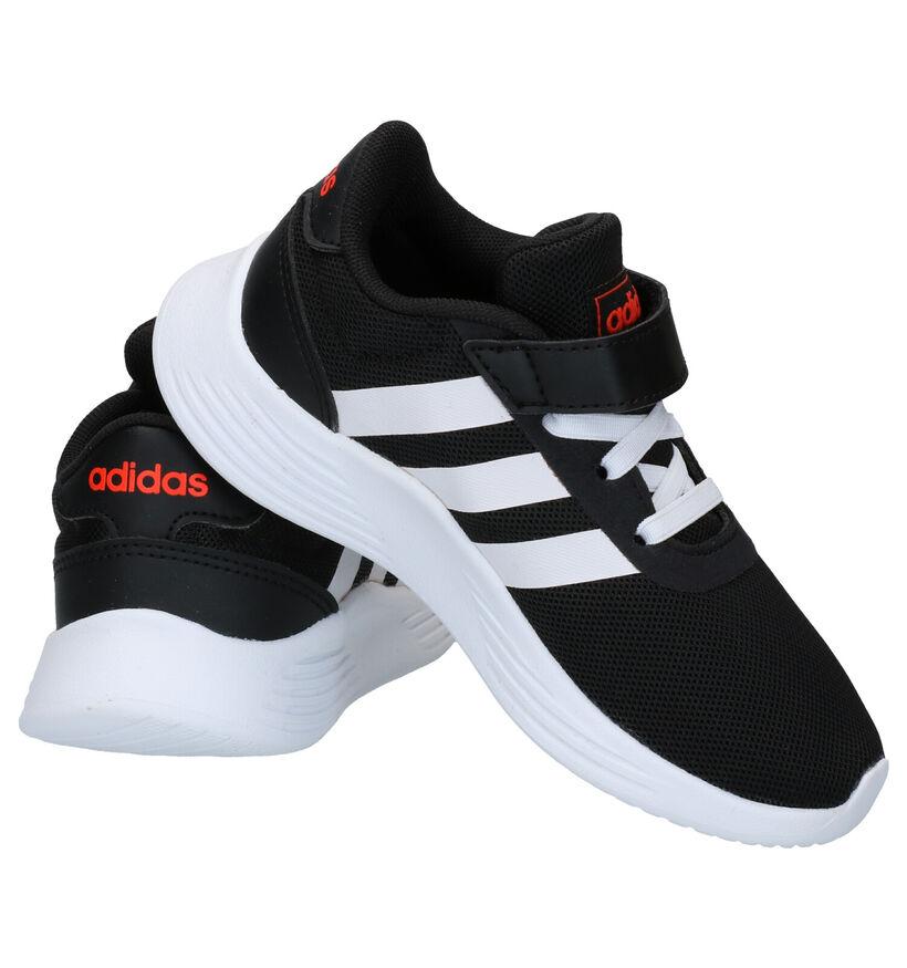 adidas Lite Racer Zwarte Sneakers in stof (276586)