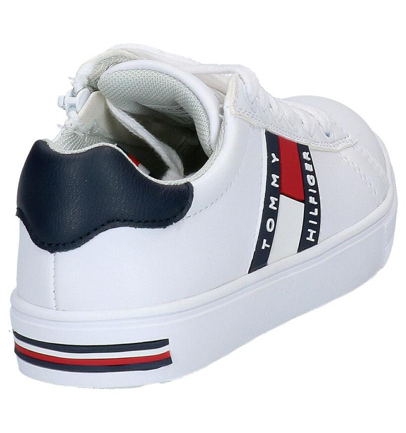 Tommy Hilfiger Baskets basses en Blanc en simili cuir (266595)