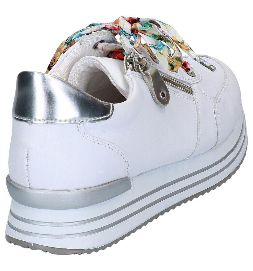 Remonte Chaussures à lacets en Blanc en cuir (266874)