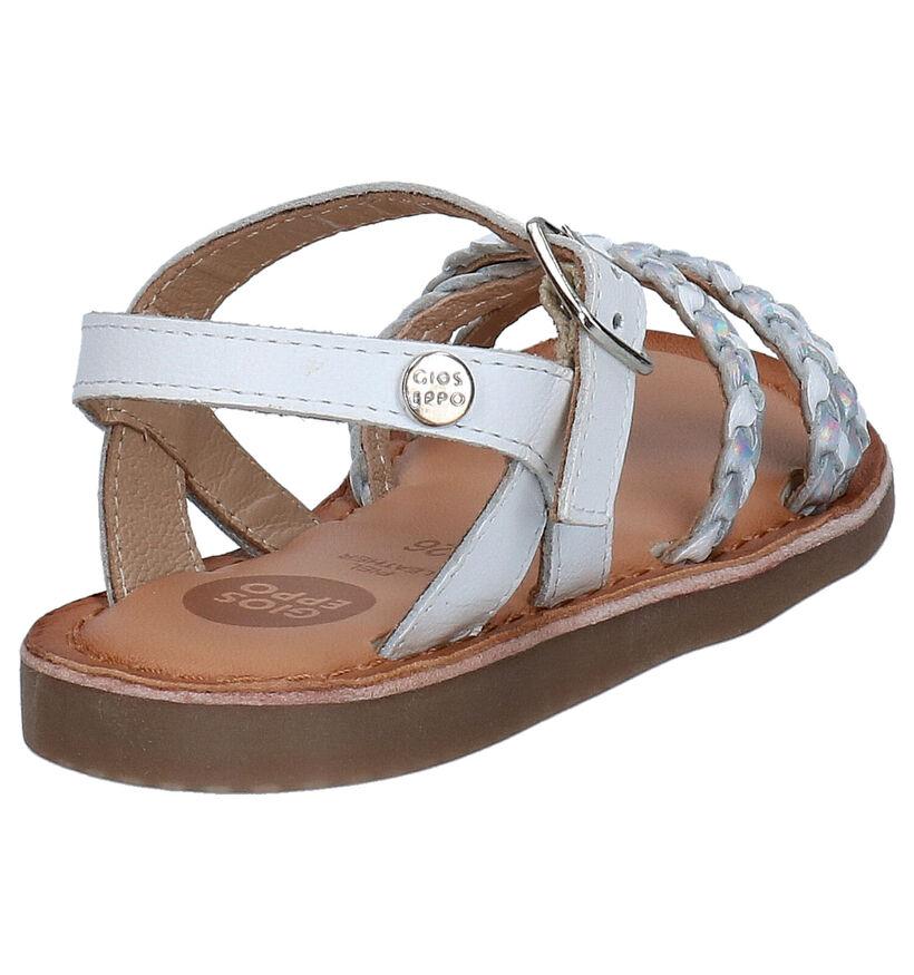Gioseppo Witte Sandalen in leer (270850)