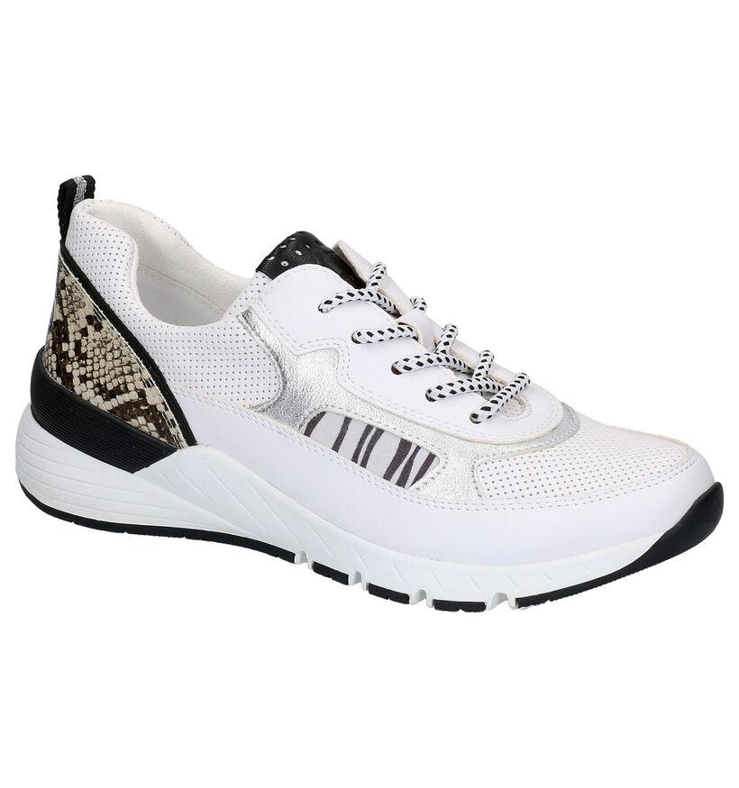 Marco Tozzi Chaussures à lacets en Blanc en simili cuir (265849)