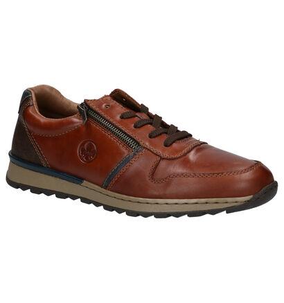 Rieker Chaussures basses en Cognac en cuir (260548)