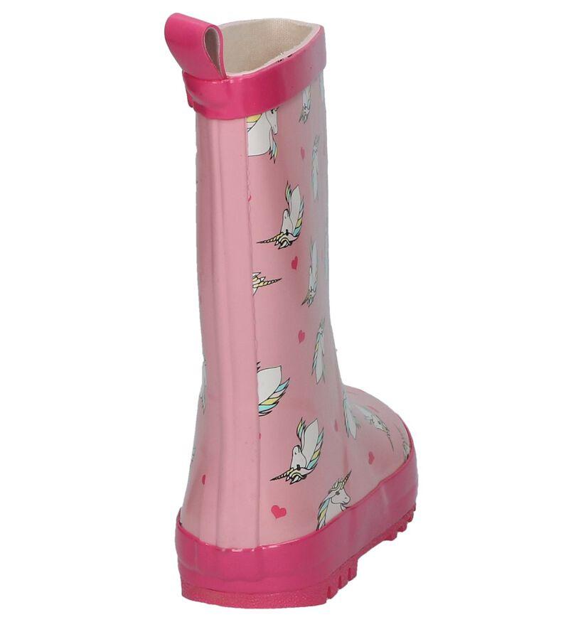 Roze Regenlaarzen Dazzle in kunststof (208722)