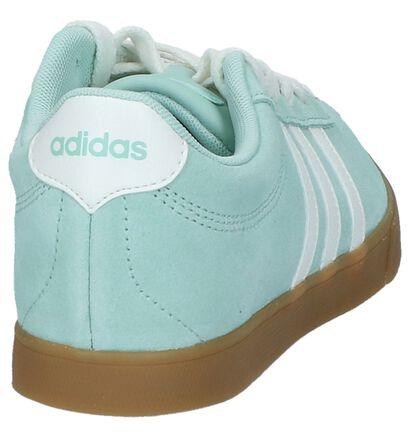 Zwarte Sneakers adidas Courtset W, Groen, pdp