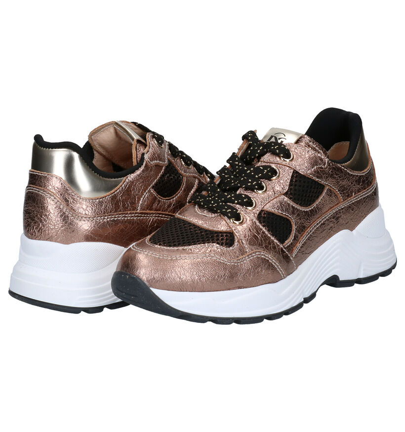 NeroGiardini Bronzen Sneakers in leer (282162)