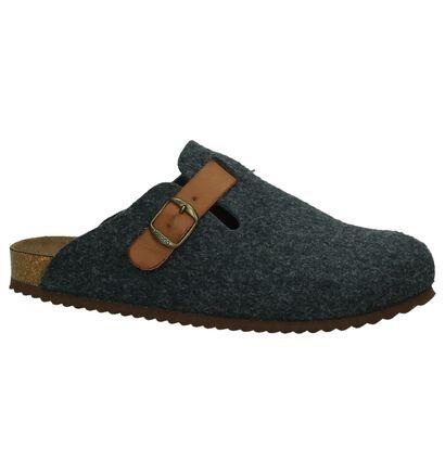 Zwarte Pantoffels Yokono Home 016 in stof (235309)
