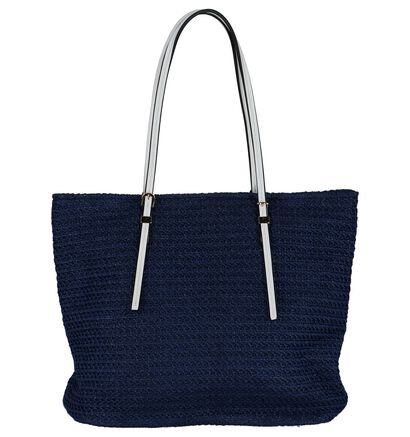 Shopper Blauw Dolce C. in stof (223311)