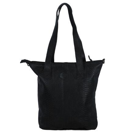 Zwarte Schoudertas Bear Design, Zwart, pdp